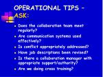 operational tips ask43