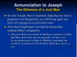 annunciation to joseph the dilemma of a just man23