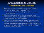 annunciation to joseph the dilemma of a just man26