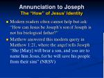 annunciation to joseph the how of jesus identity28