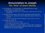 annunciation to joseph the how of jesus identity29