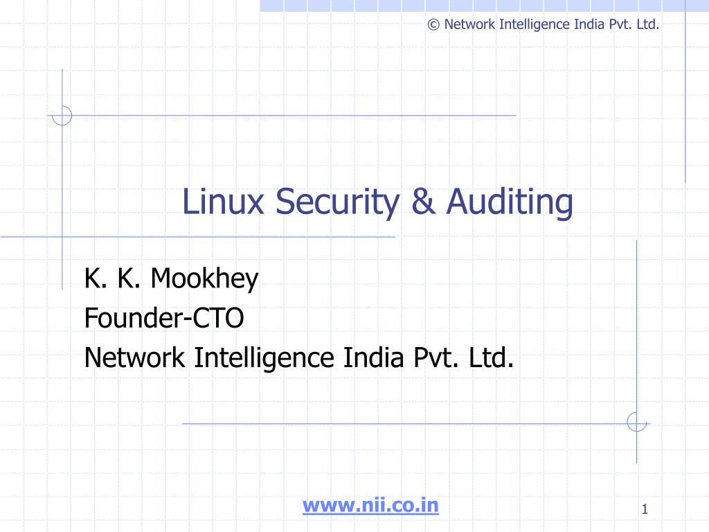 linux security auditing l.