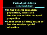 facts about children with disabilities7