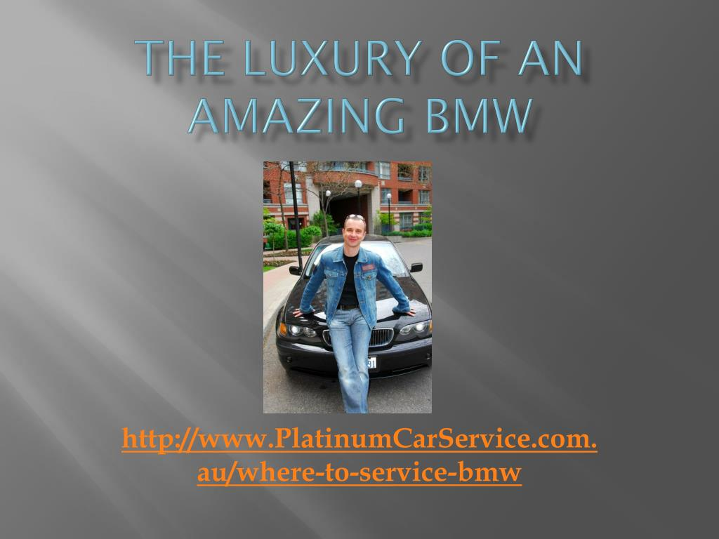 the luxury of an amazing bmw l.