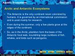 arctic and antarctic ecosystems26