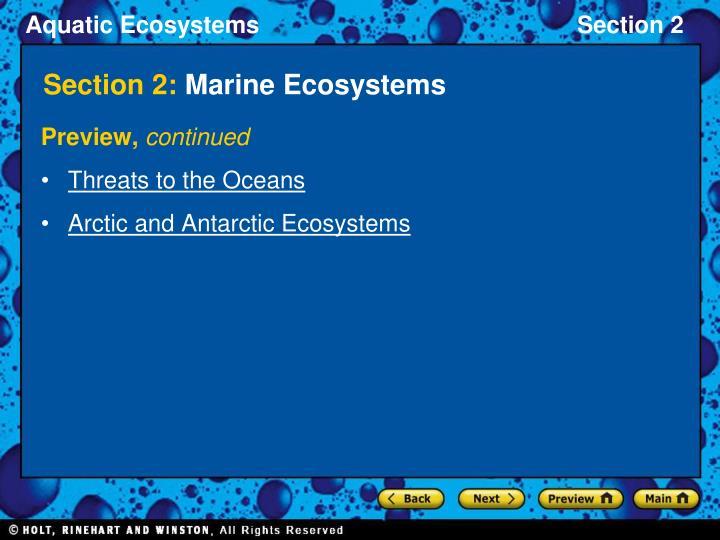 Section 2 marine ecosystems3