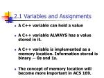2 1 variables and assignments