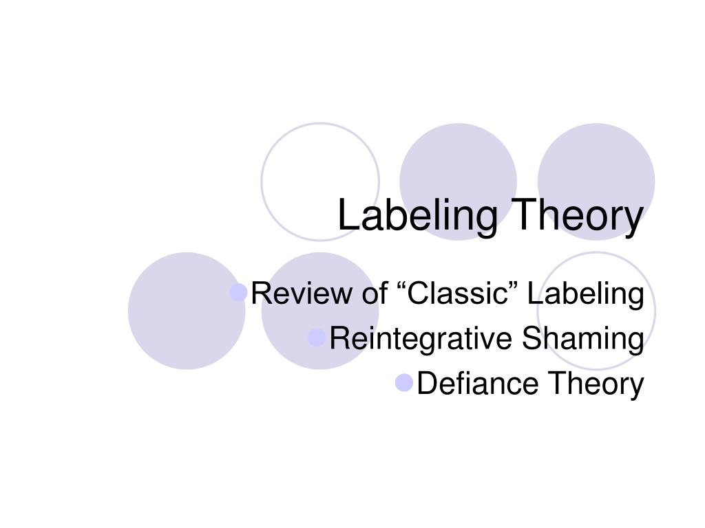 labeling theory l.