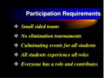 participation requirements13