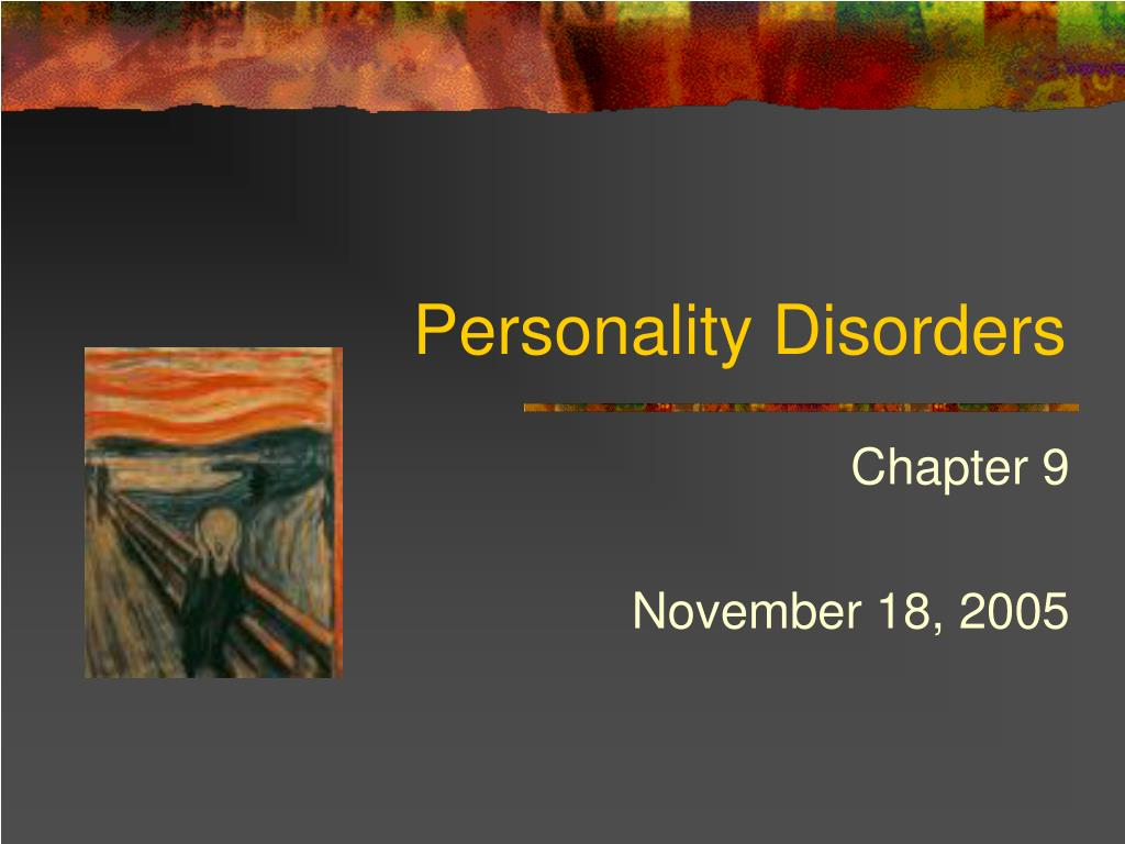 personality disorders l.