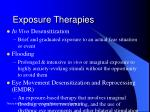exposure therapies