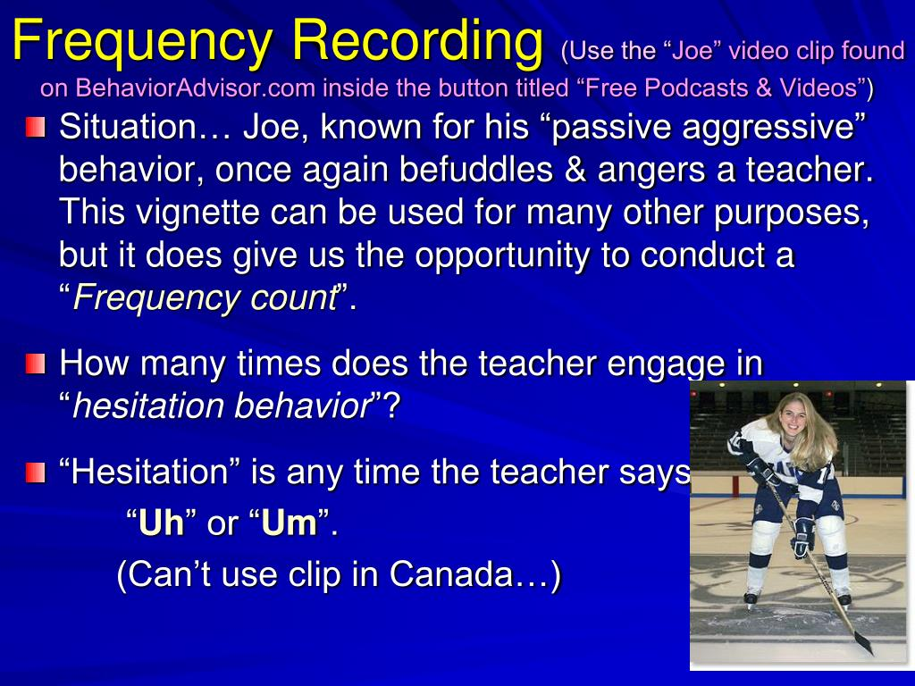 Frequency Recording