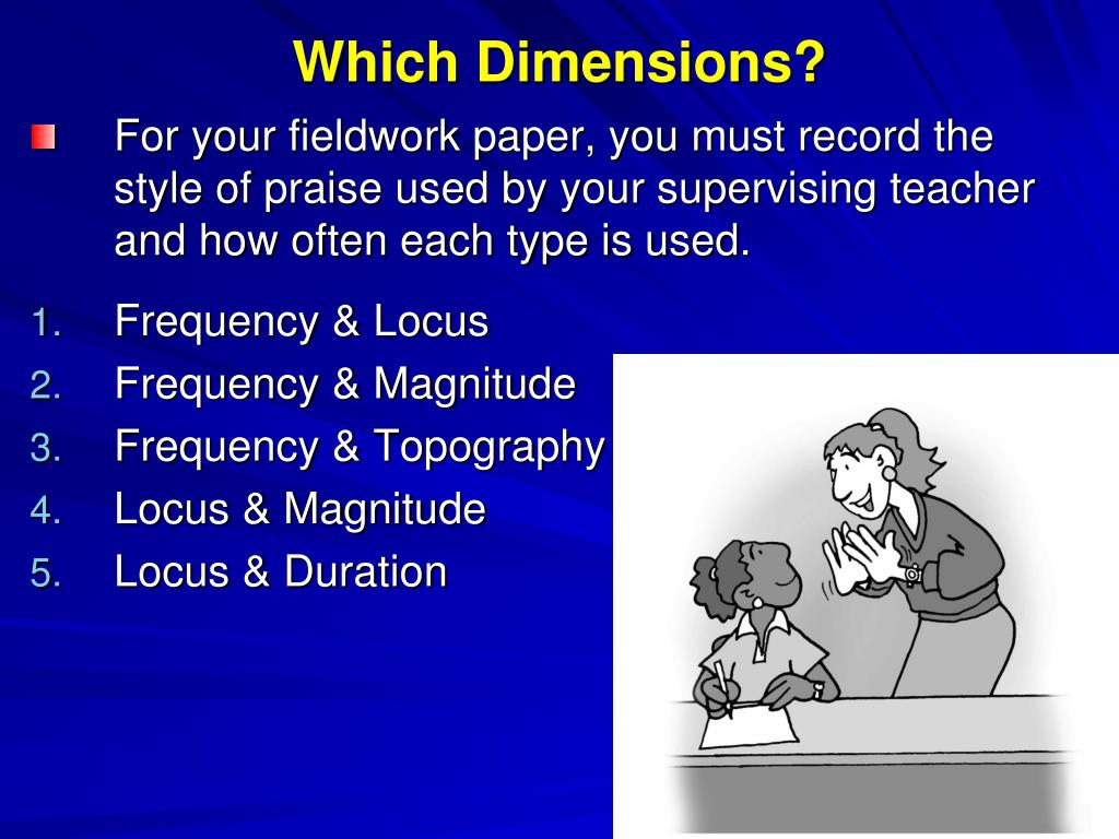 Which Dimensions?