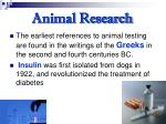 animal research26