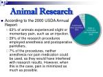 animal research31