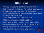 ncof bias