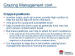 grazing management cont50