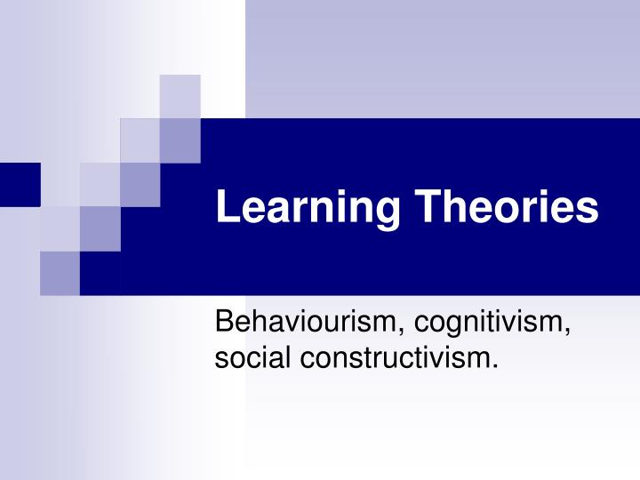 theories of learning 2014