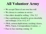 all volunteer army