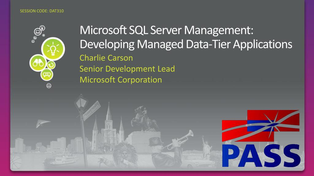 microsoft sql server management developing managed data tier applications l.