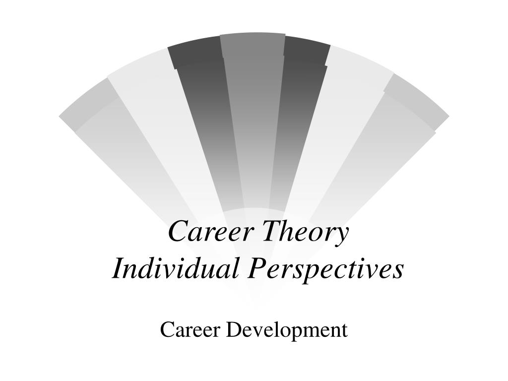 career theory individual perspectives l.