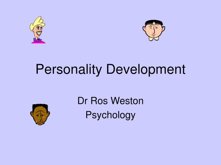 personality development n.