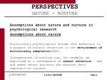 perspectives nature nurture6