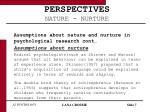 perspectives nature nurture7