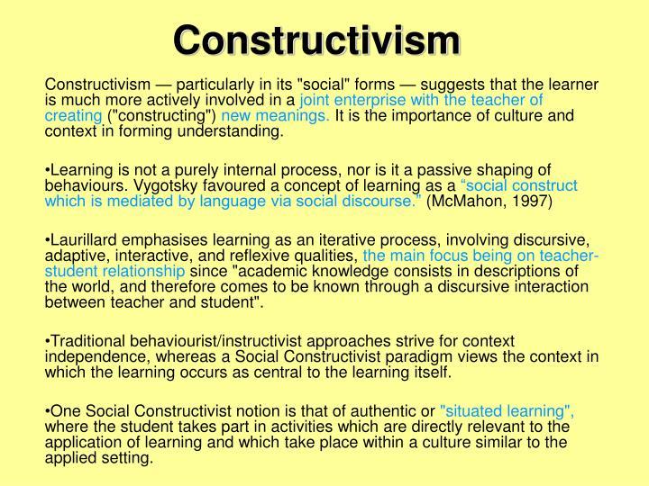 constructivism n.