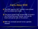 facts about bse
