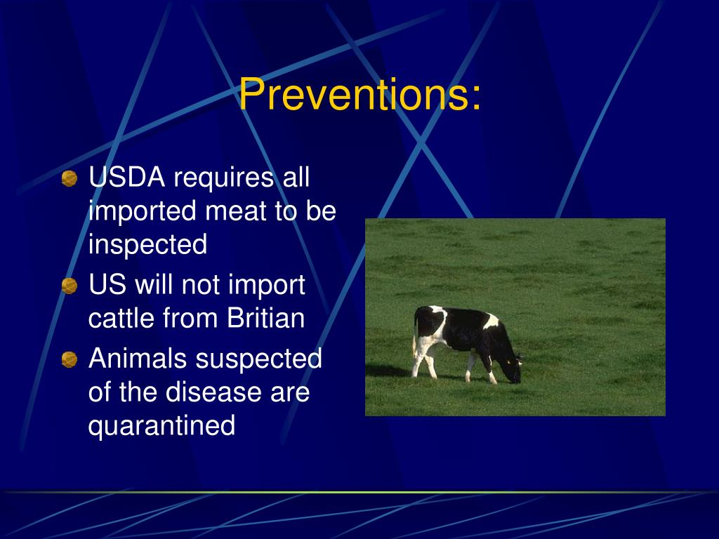 Preventions: