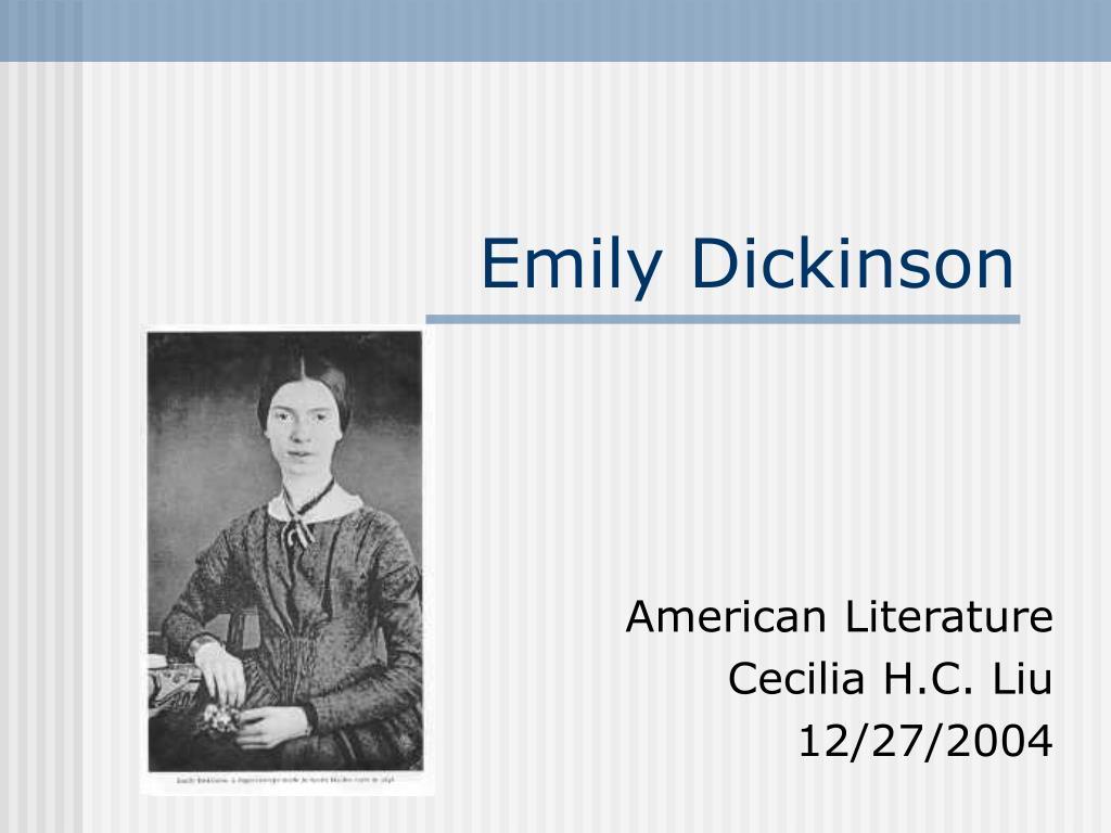 emily dickinson l.
