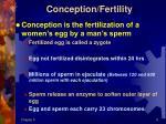 conception fertility