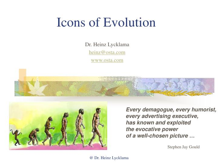icons of evolution n.
