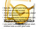 panduan pengaturan email di outlook