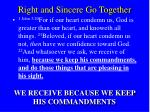 right and sincere go together22