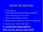 right or sincere19