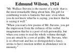 edmund wilson 1924
