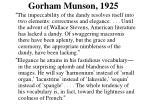 gorham munson 1925