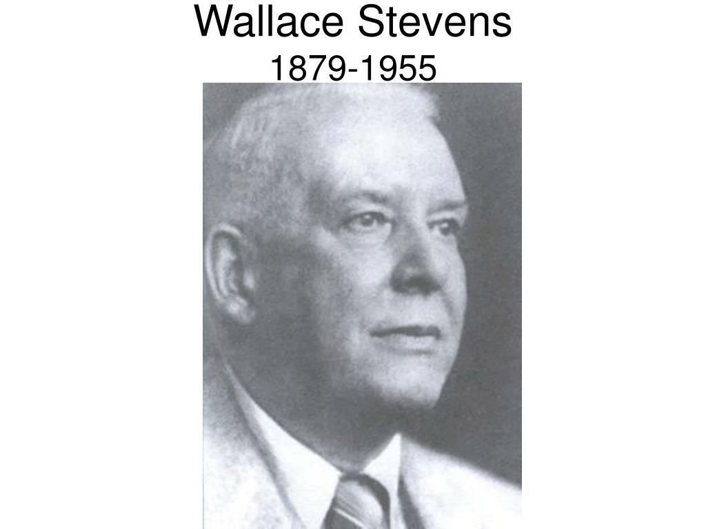 wallace stevens 1879 1955 l.