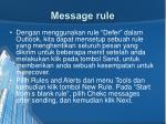 message rule
