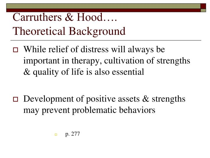Carruthers hood theoretical background3