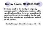 murray bowen md 1913 1990