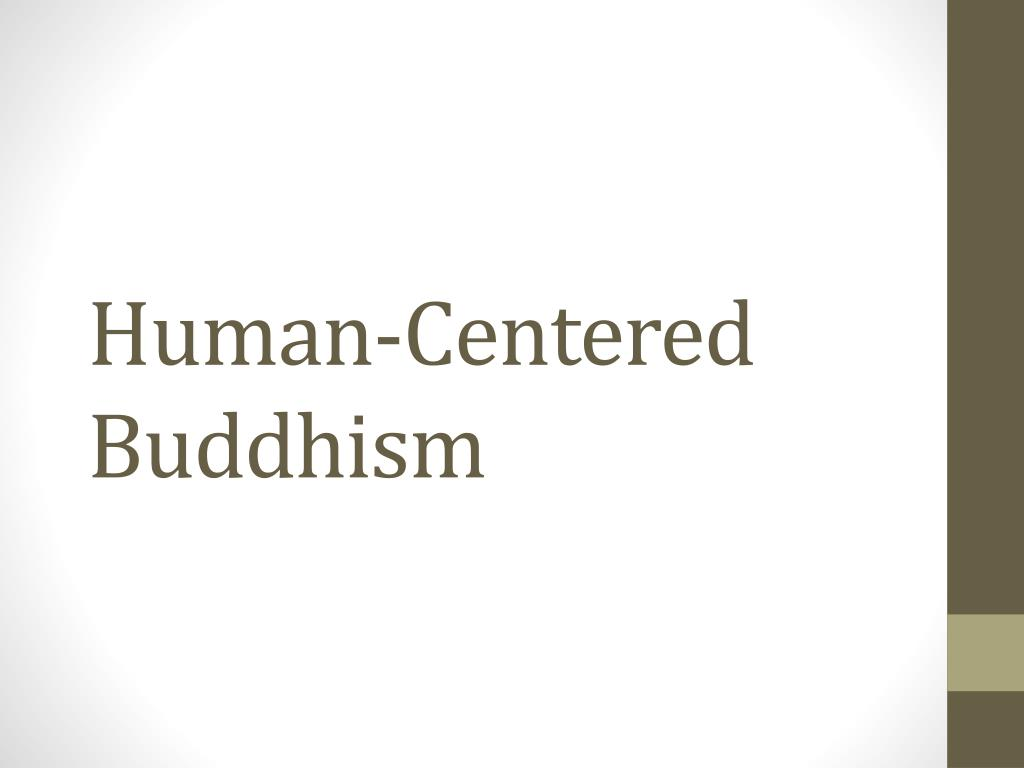 human centered buddhism l.