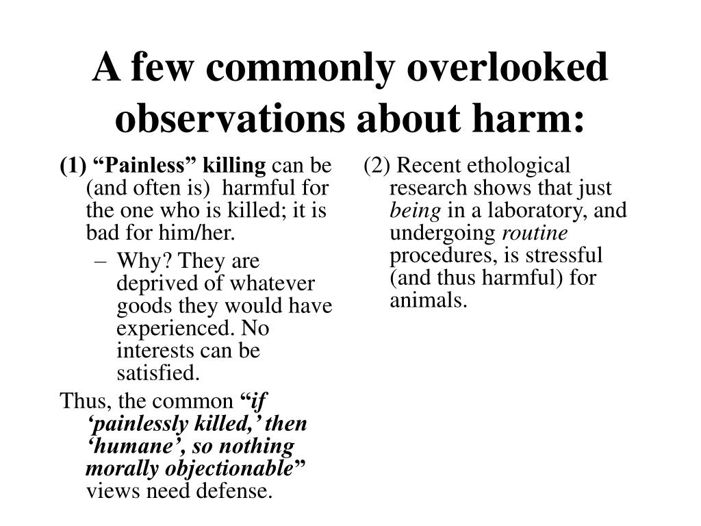 "(1) ""Painless"" killing"