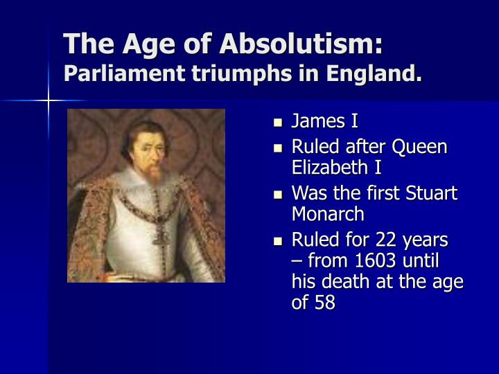 absolutism and parliamentary rule in england essay
