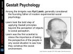 gestalt psychology33