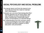 social psychology and social problems48