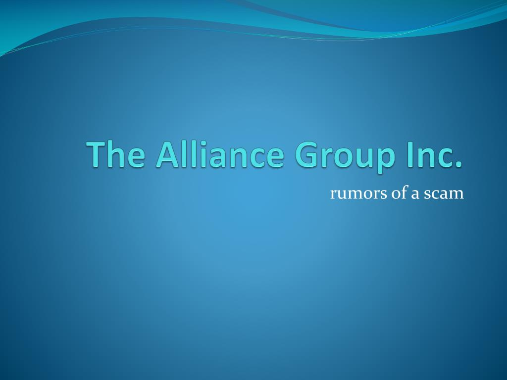 the alliance group inc l.