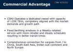 commercial advantage